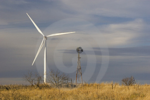 Wind energy new & old
