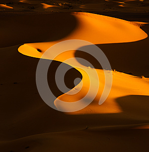 Abstract desert