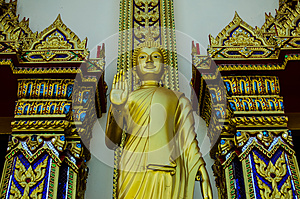 Big golden buddha (Golden Triangle,khoyai, Thailand)
