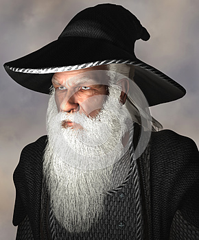 Portrait of a wizard