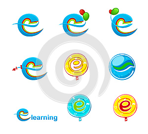 Explorer logo/E-learning logo