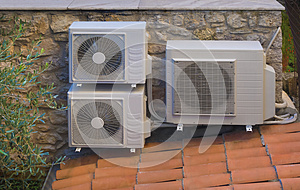 Heating and air conditioning inverter heat pump