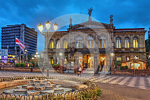 National Theatre of Costa Rica in San Jose