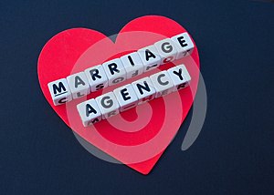 Red heart marriage agency