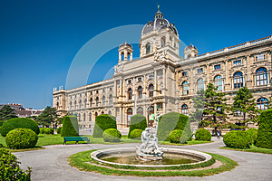 Natural History Museum in Vienna, Austria