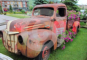 Old Rustic Truck Display