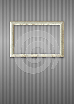 Picture Frame on Wallpaper