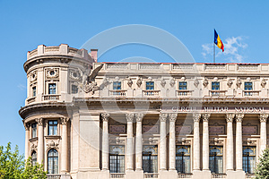 The National Military Circle (Cercul Militar National) In Bucharest