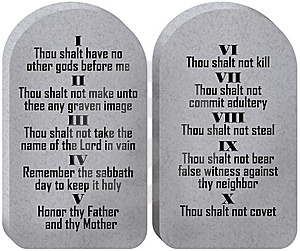 Ten Commandments Tablets cover photo - 5548826 - Timeline Images