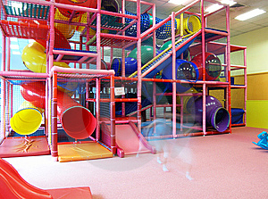 Indoor children playground structure