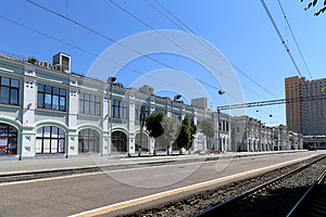 Rizhsky railway station (Rizhsky vokzal, Riga station) is one of the nine main railway stations in Moscow, Russia.