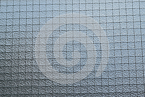 Background of wired window glass