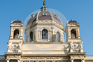 Kunsthistorisches Museum (Museum of Art History Or Museum of Fine Arts) In Vienna