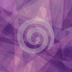 Purple background with triangle shapes in abstract pattern and lines