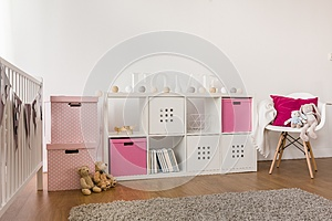 Kids storage furniture