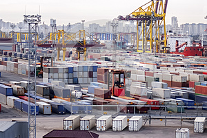 Containers, cargo, shipping...