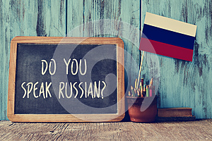 Question do you speak russian?