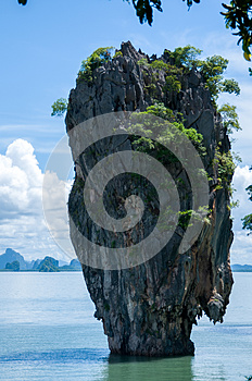 Tapu Island (popularly called James Bond Island)