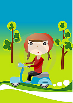 Scooter girl