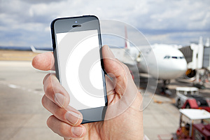 Mobile Cell Phone Airport