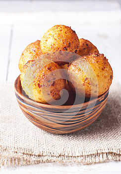 Queso Cottage donuts.