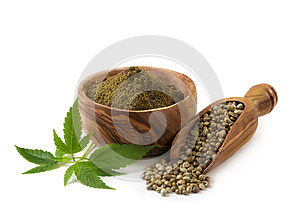 Hemp seeds and flour