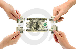 Hands and money puzzle