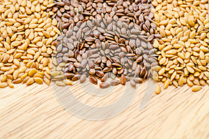 Difference of Golden linseeds and brown linseeds (flax seeds)