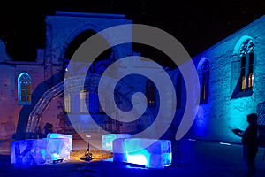 Nuremberg-Blaue Nacht (Blue Night) festival 2016