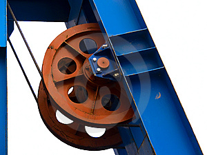 Wheel conducting in movement