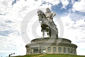Genghis Khan Statue Complex at Tsonjin Boldogeast of the Mongolian capital Ulaanbaatar