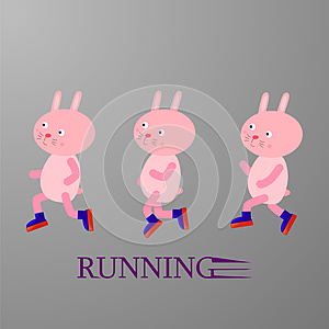 Running rabbits