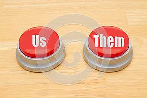 The difference between us and them
