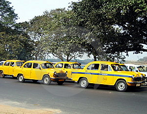 Calcutta's taxis
