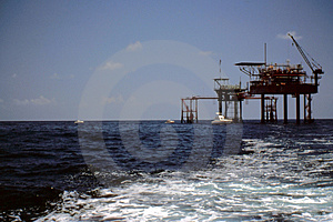 Fishing at Oil & Gas Platforms