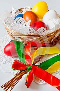 Traditional Czech easter decoration