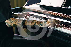 Grand Piano Pianist Musician Performer Melody Concept