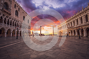 San Marco square in Venice. Italy.