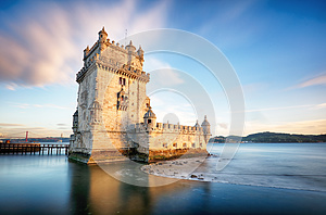 Lisbon, Belem Tower - Tagus River, Portugal