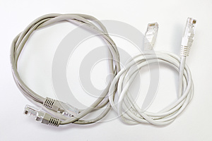 Set of patch cords with different color top wire insulation, wou