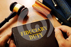 Hands holding Fiduciary duty.