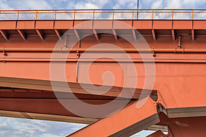 Gazela Bridge Over Sava River Construction Detail - Belgrade - Serbia