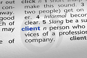 Definition of Client