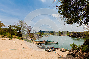 Khongyai beach Don Khone Laos