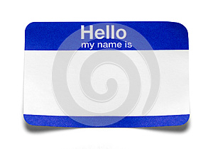 Hello My Name Is Tag Bent