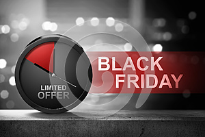 Limited Offer on Black Friday message
