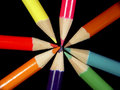 Colored Pencils 2 Royalty Free Stock Image - 7526
