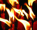 Candle Flame Royalty Free Stock Photo - 103785