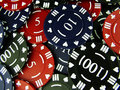 Gambling Chips Royalty Free Stock Photos - 1000548