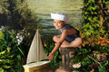 Young Sailor Royalty Free Stock Photography - 10019457